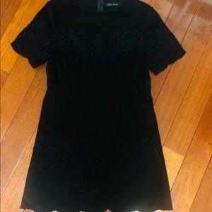 Zara Vegan Suede Dress